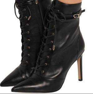 NWOT Sam Edelman Bryton Black Leather Booties